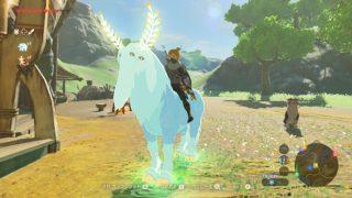 【ゼルダの伝説】「ヌシ」「巨大馬」「白馬」の出現場所と乗り心地を比べてみたよ【ブレスオブザワイルド】